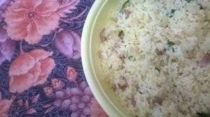 postpartum rice recipe