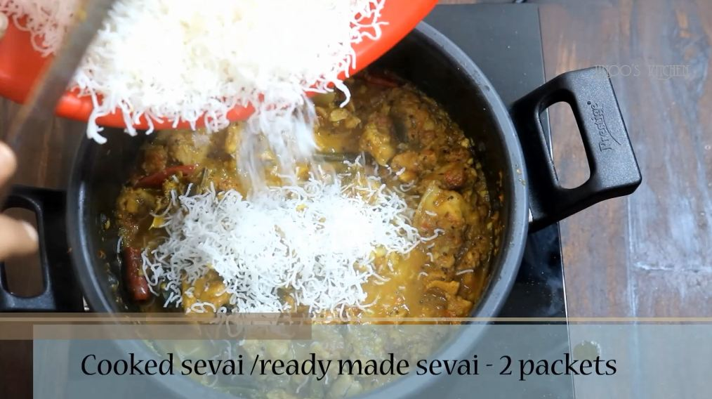 chicken sevai