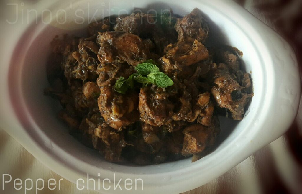 Pepper Chicken fry | Non veg recipes | Pepper chicken recipe
