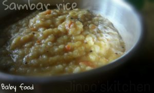Dal khichdi for babies