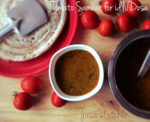 tomato sambar