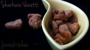 Sadhya recipe - Sarkara varatti