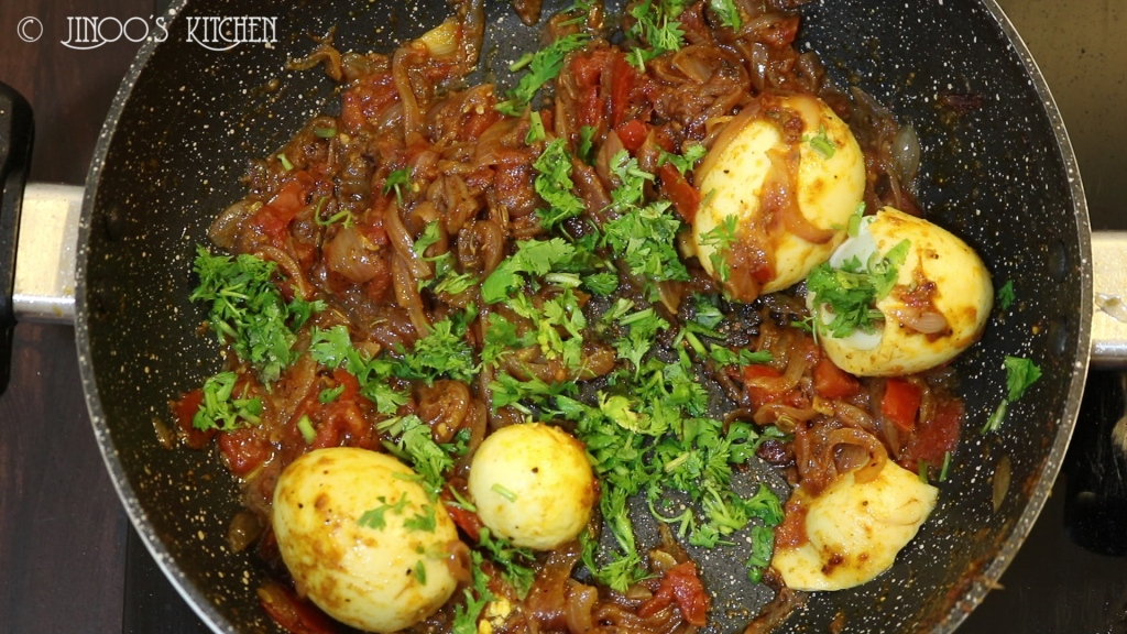 egg roast masala