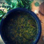 Cheera paruppu curry