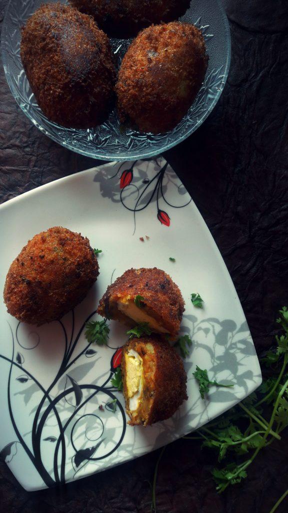 Egg Kabab a.k.a Dinosaur eggs