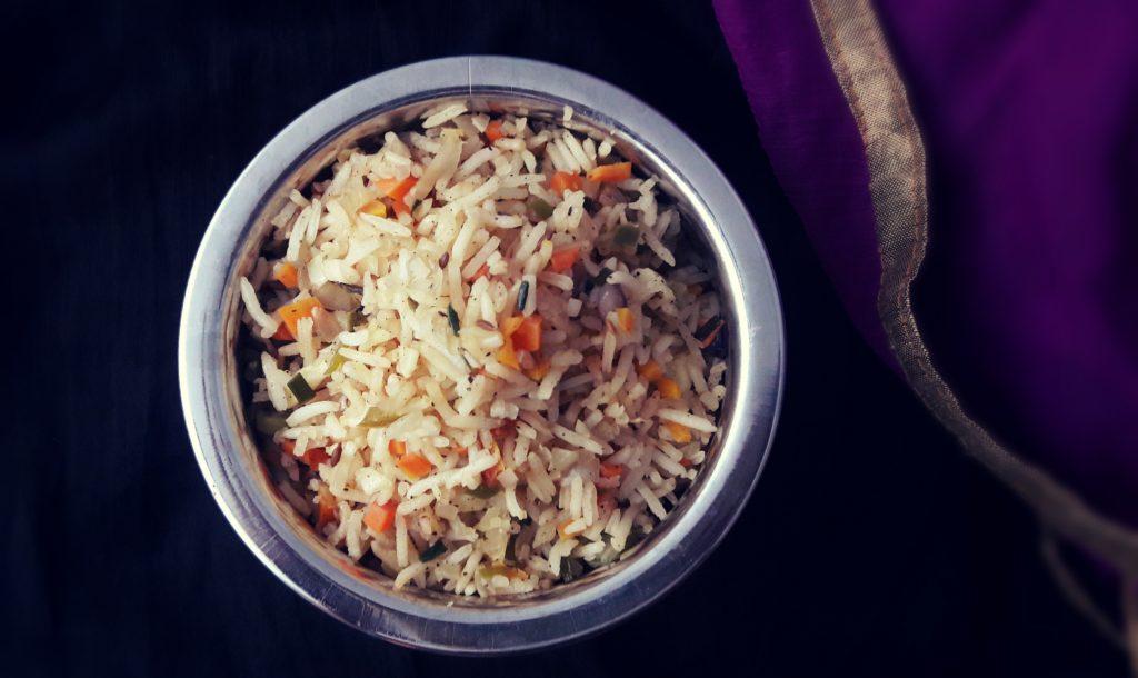 Veg Fried rice – Street food style