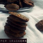Ragi Pepper Crackers
