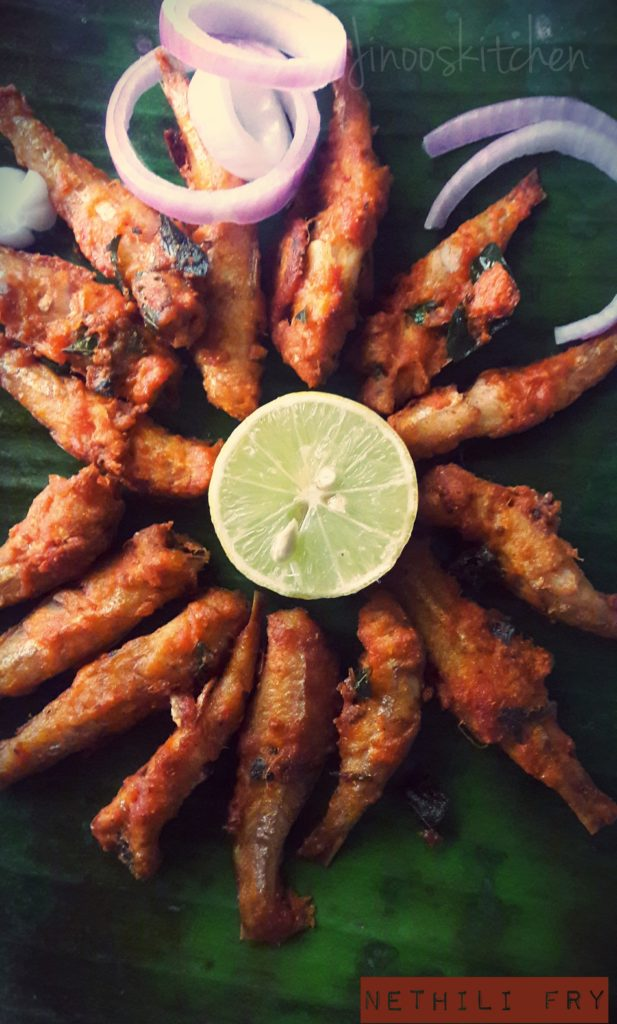 Nethili fry ~ Anchovy fry