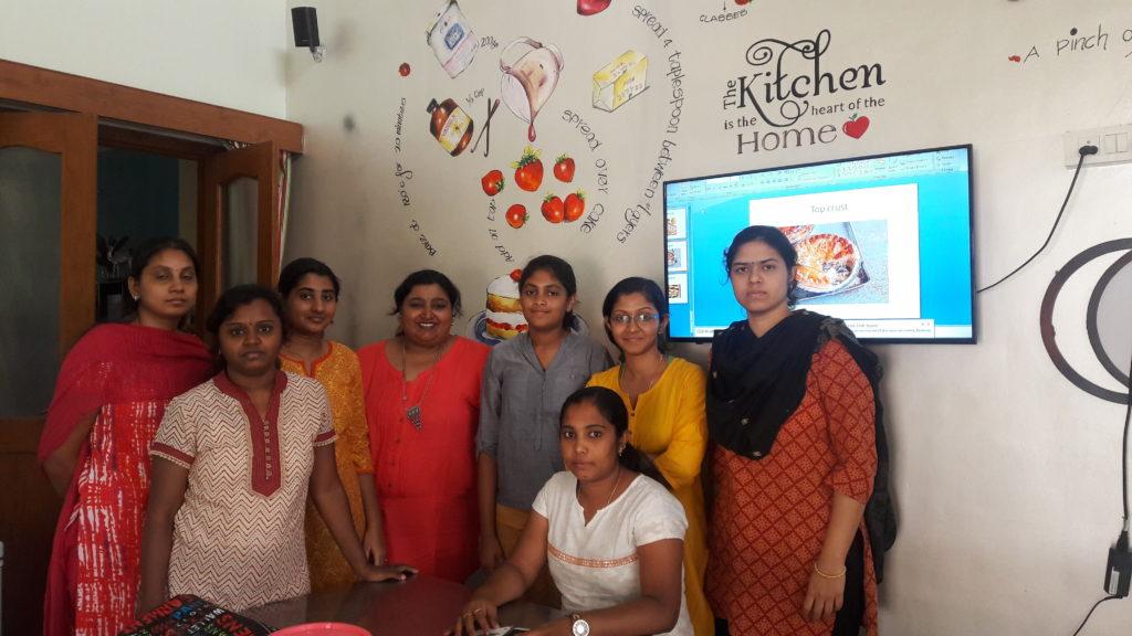 Baking classes @ Lathas kitchen studio