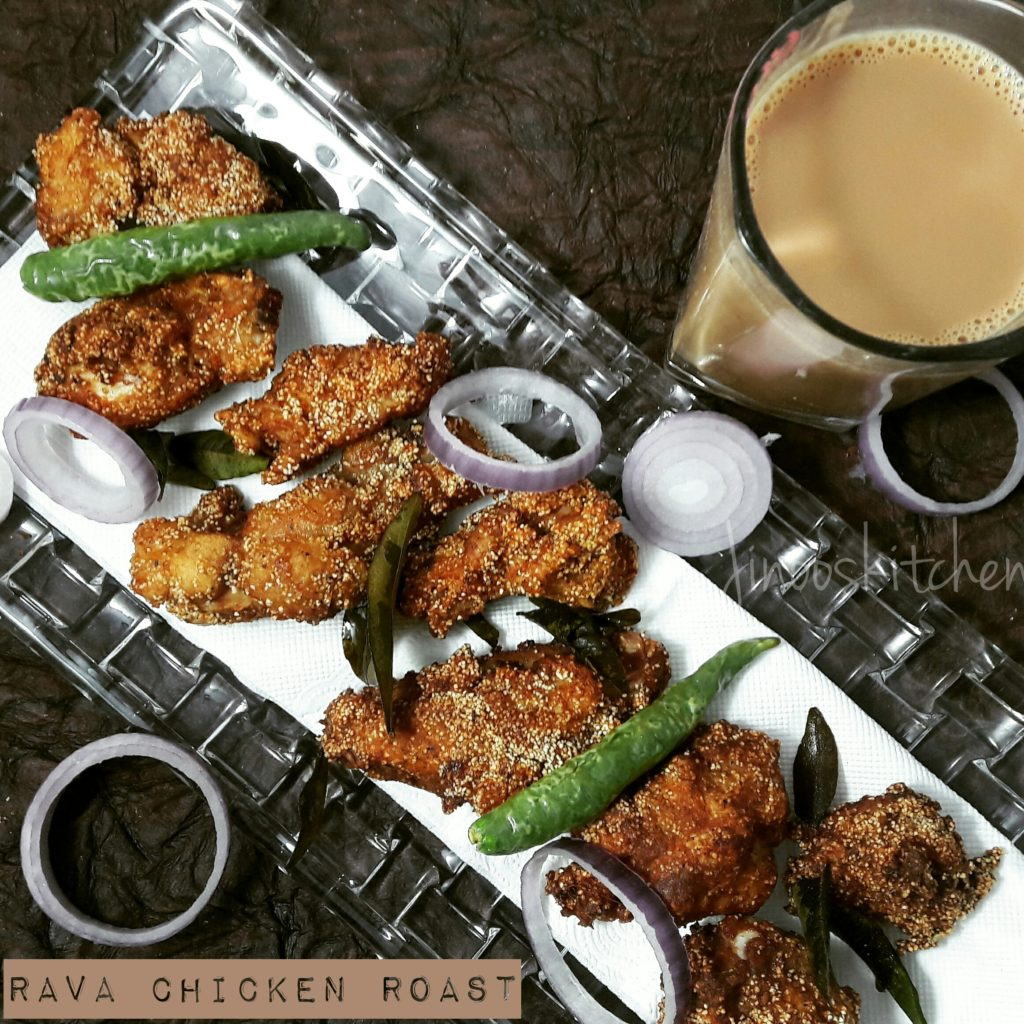 rava chicken fry
