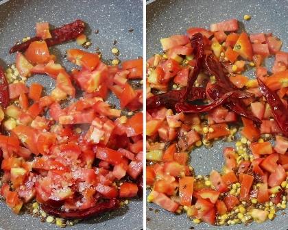 Tomato Flaxseeds chutney recipe