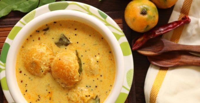Mambazha pulissery | Mambazha curry kerala style | sweet mango curry