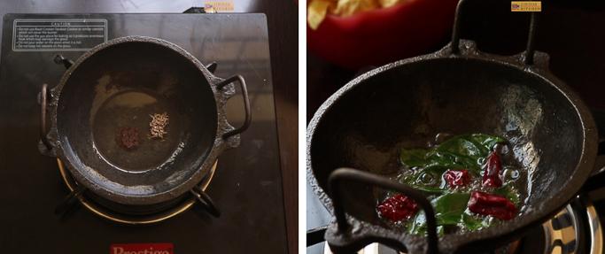 prepare tempering chakka mulakushyam recipe