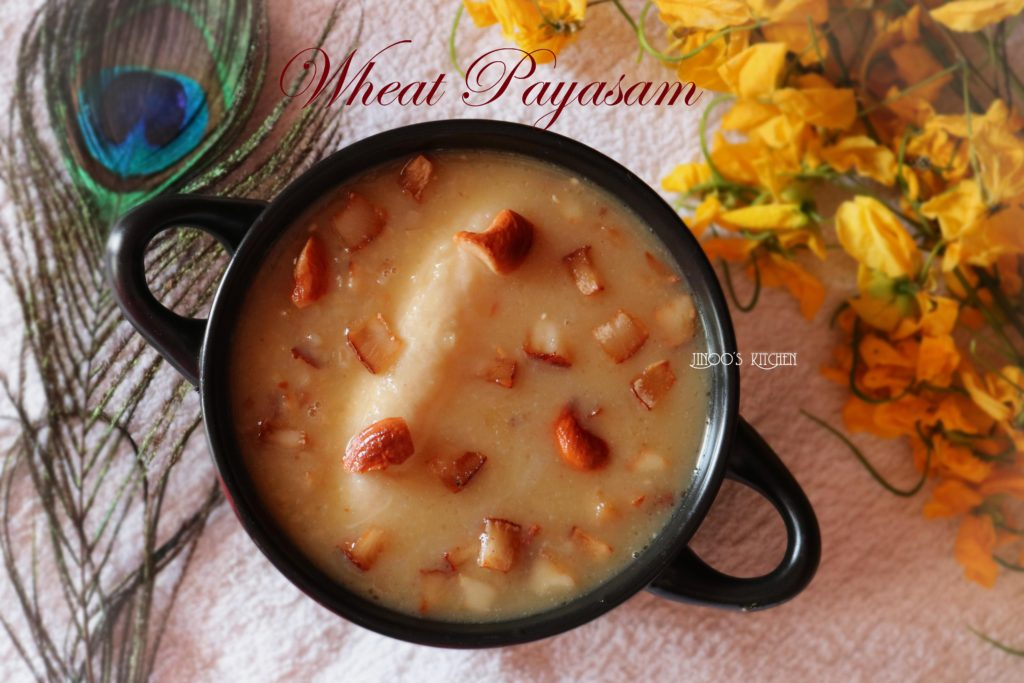 Broken Wheat Payasam ~ Gothambu Payasam