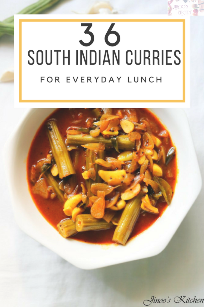 36 Delicious South Indian Curry Recipes for rice