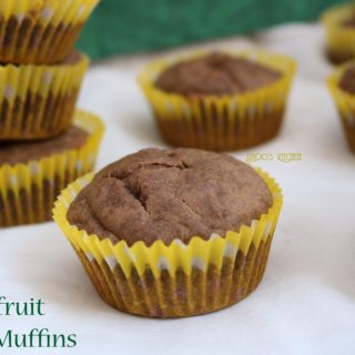 Jackfruit muffins