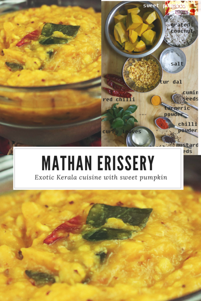 Mathanga Erissery recipe – Pumpkin Erissery without grinding coconut