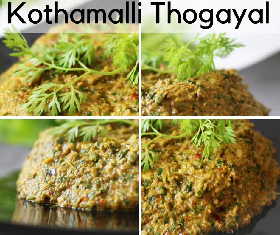 Kothamalli Thogayal