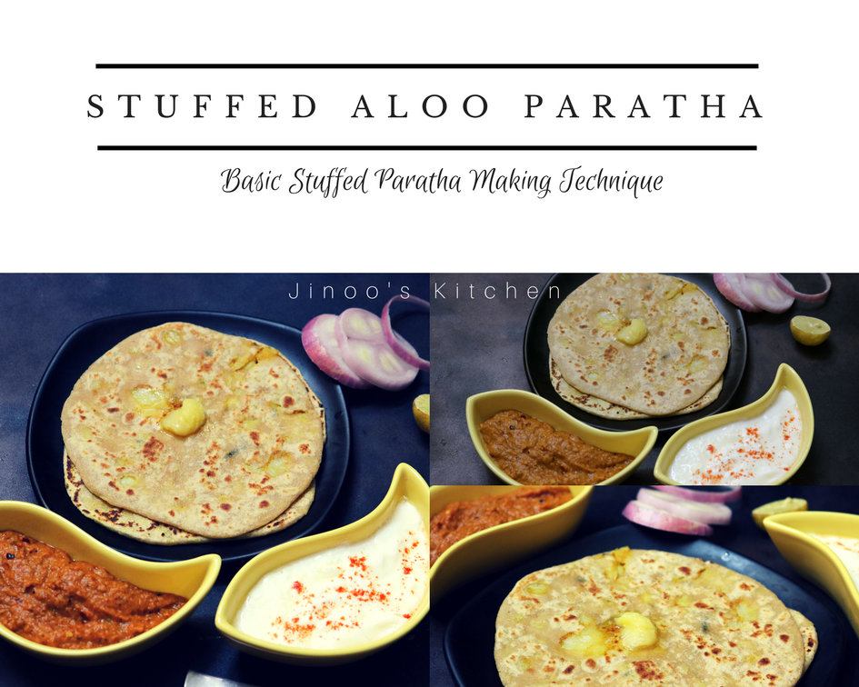 Stuffed Aloo Paratha recipe ~ Video recipe