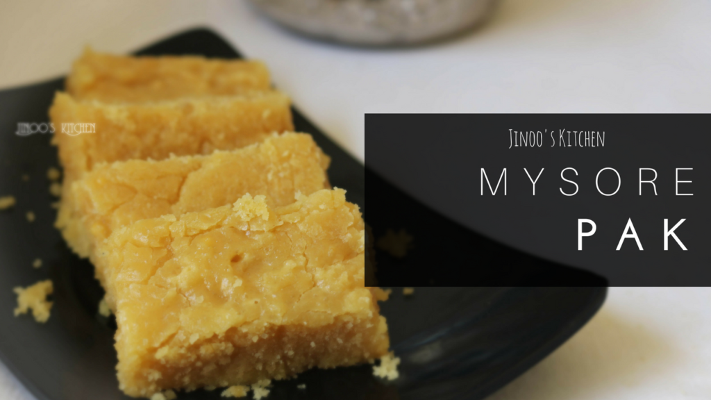 Mysore Pak recipe | Video recipe