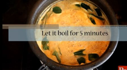 and Let it come to a rolling boil. Takes  approximately 5 minutes.
