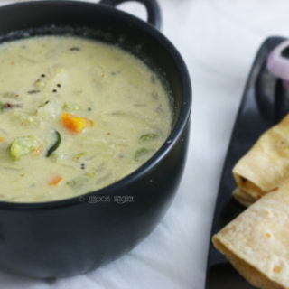 White Vegetable Kurma recipe
