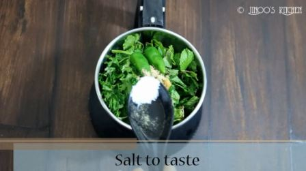 Easy Mint chutney