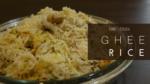 Ghee Rice with Coconut Milk recipe