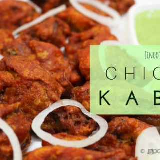 Fried Chicken Kababs recipe