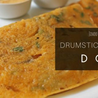 Drumstick leaves Dosa recipe