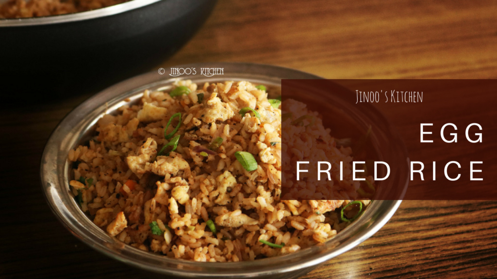 Egg fried rice recipe Indian