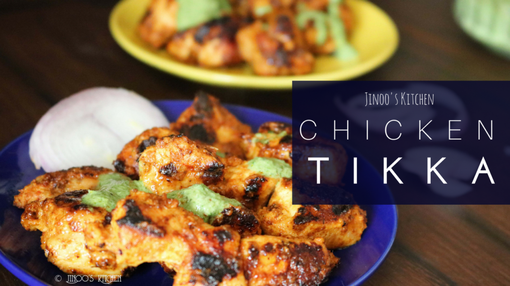Easy restaurant style chicken tikka recipe in pan