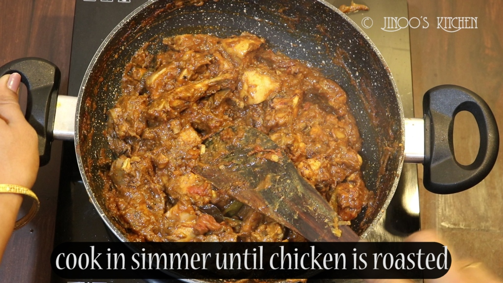Chicken roast recipe Kerala style