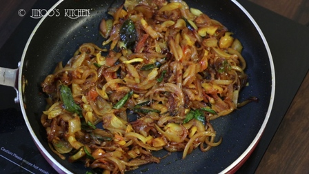 onion masala kerala recipe