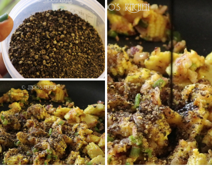 Baby corn pepper fry recipe