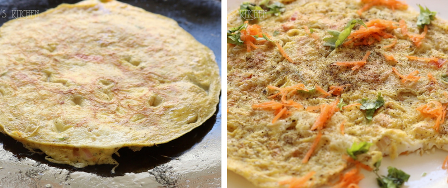 egg recipes south indian - omelette