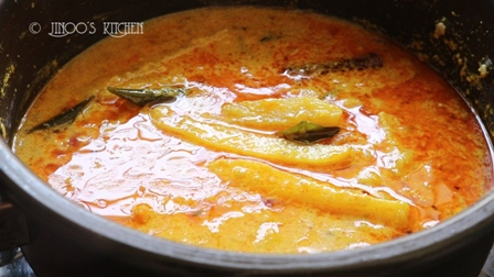 Tapioca curry for chapathi