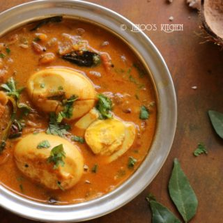 Egg curry recipe Kerala style