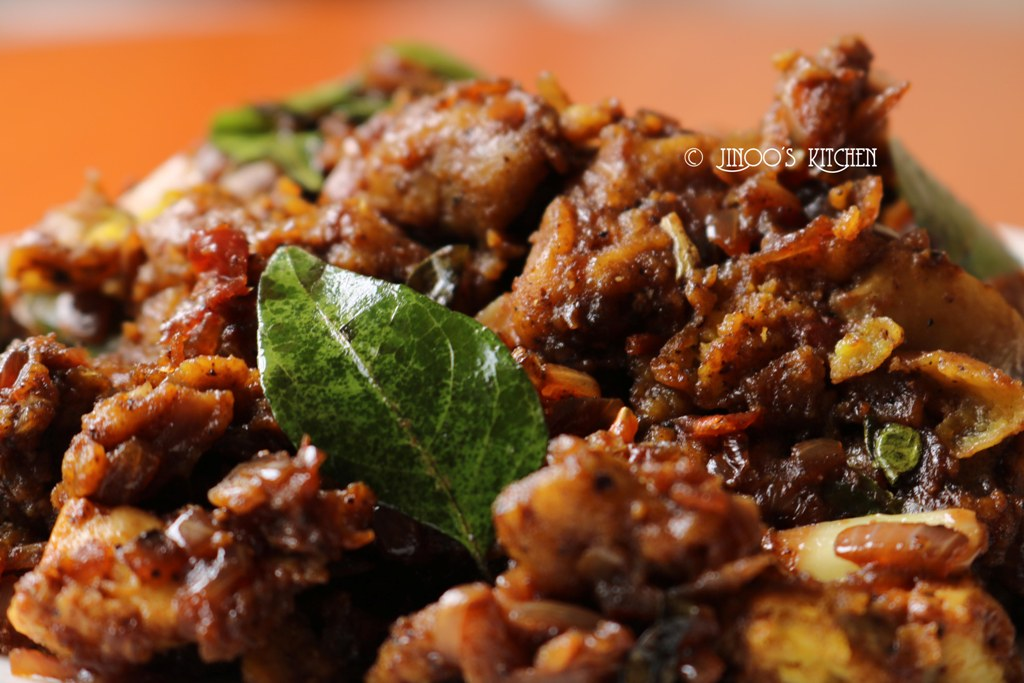 Mushroom pepper fry recipe