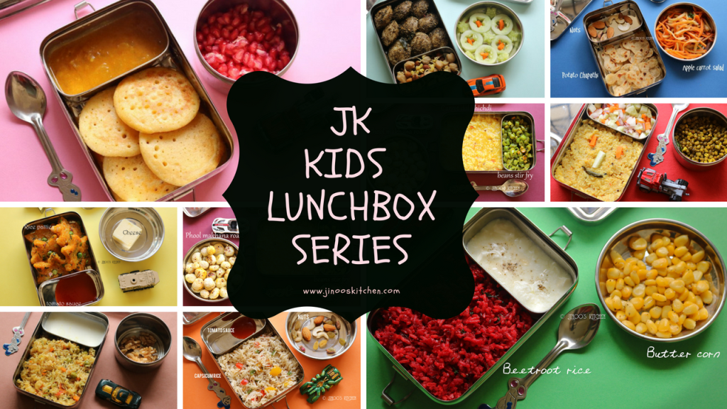 Kids lunch box recipes | JK kids lunch and snacks ideas | kids lunch box series