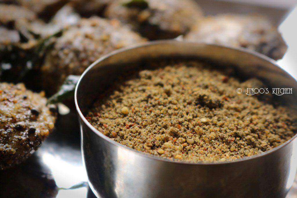 Sesame Seeds idli powder Recipe - Ellu Podi Recipe