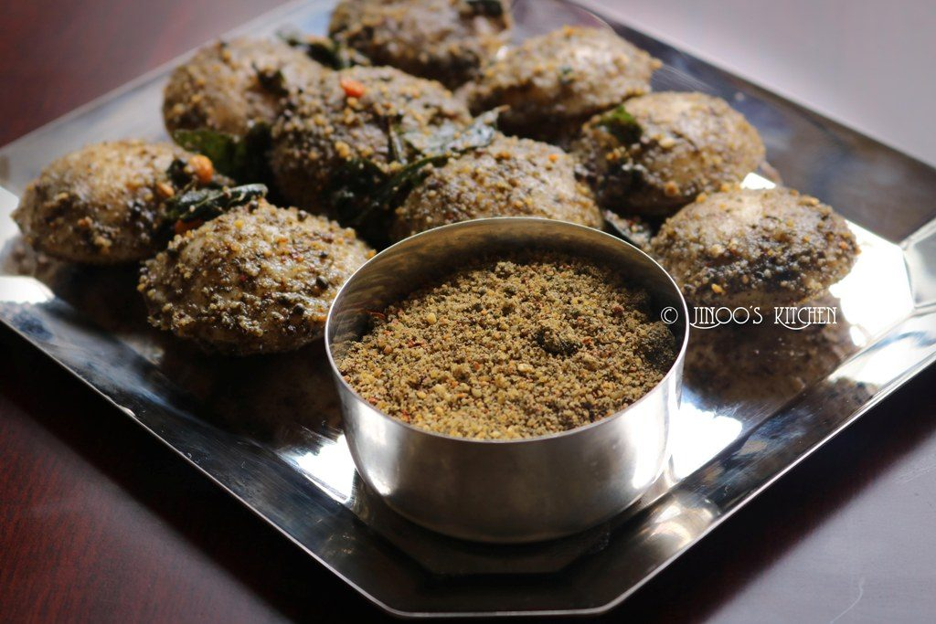 Sesame Seeds idli powder Recipe - Ellu Podi Recipe