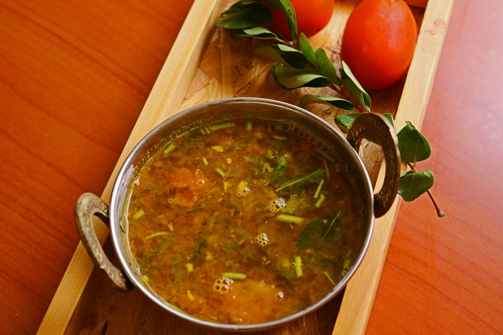 how to cook tomato rasam