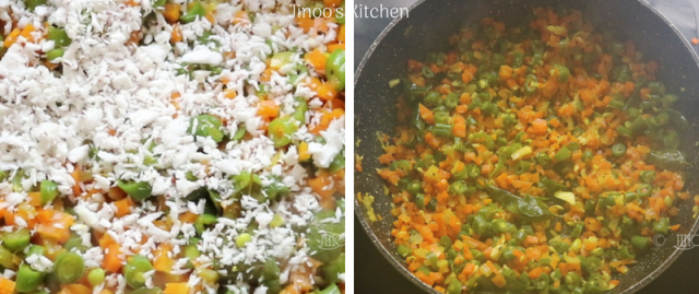 Carrot beans thoran recipe