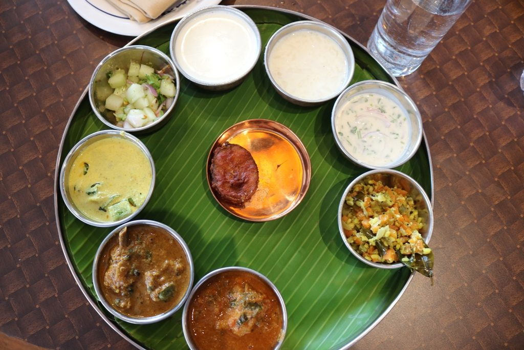 Samayalarai – tantalizing south Indian thali @ coimbatore