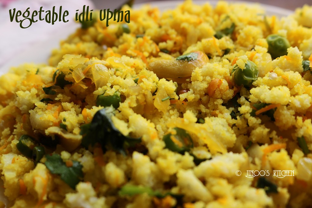 vegetable idli upma recipe