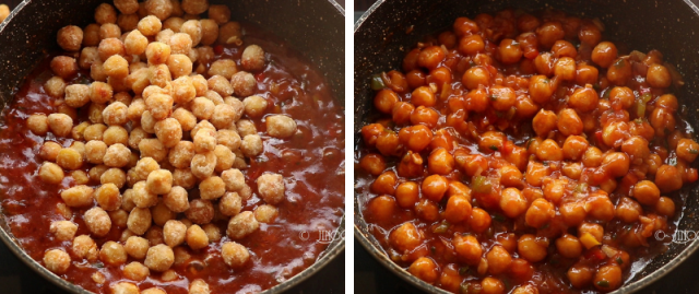 Chilli chana recipe