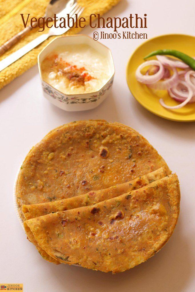 mixed veg paratha recipe
