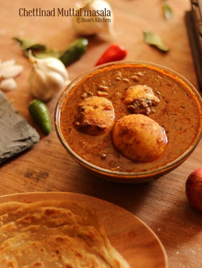 chettinad egg gravy recipe