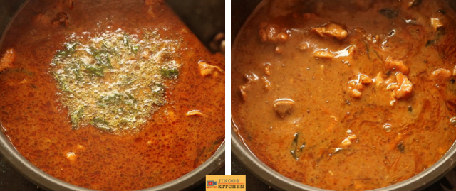 erode chicken thanni kulambu recipe